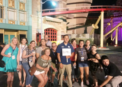 Welcome Reception at Universal Studios